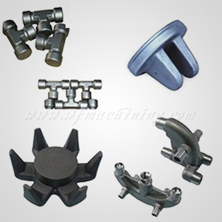 Customized Hot Forged Parts with Steel Forging Process