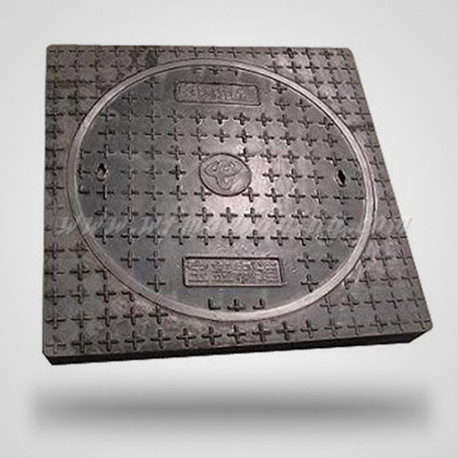 Ductile Iron Manhole Cover from Sand Casting Manufacturer
