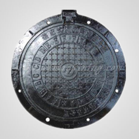 Ductile Iron Sand Casting Manhole Cover with Customized Service