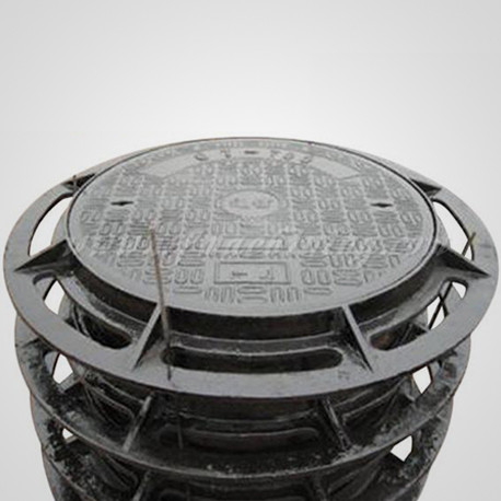 Ductile Iron Sand Casting Manhole Covers in Road Sanitary