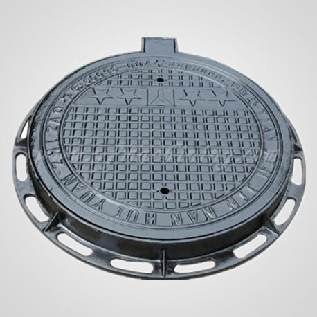 Cast Iron Manhole Cover Sand Casting with Coating Service