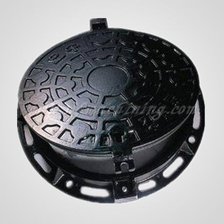 China Casting Factory Supplies Manhole Cover with Machining