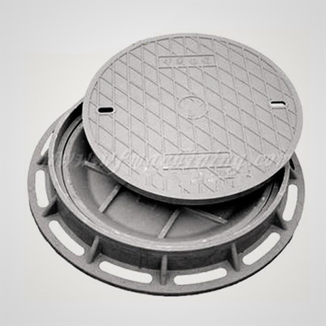 Lockable Ductile Iron Manhole Cover Frame with Coating Service