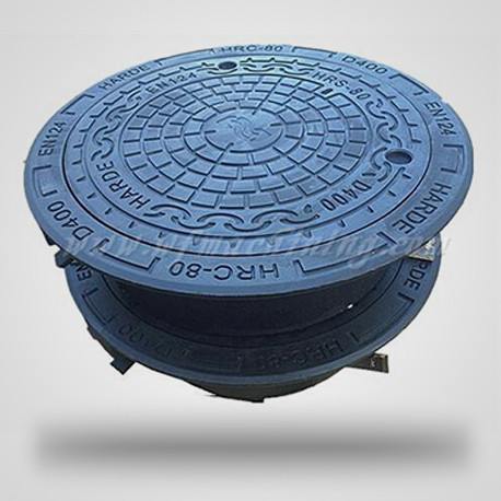 En124 Ductile Casting Iron Manhole Cover with OEM Service