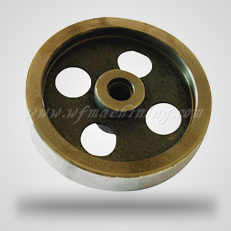 OEM and Customized Sand Casting Flywheel for Fitness Equipment