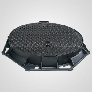 Cast Iron Water Meter Manhole Cover with Coating Service