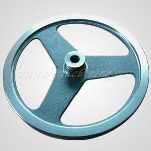 China Supply Iron Casting Flywheel with Coating Service