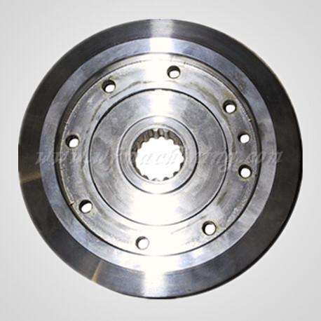 Cast Iron Clutch Flywheel by Custom Manufacturing