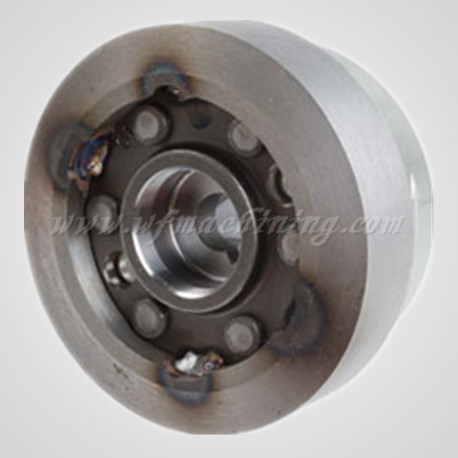 Ht300 Sand Casting Flywheel for Indoor Cycling Equipment